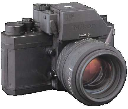 Nikon prototypes and specials SLR camera