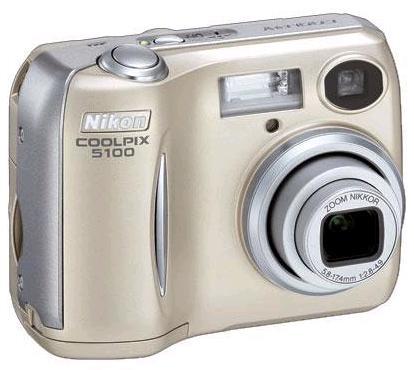 Цифровые фотоаппараты - Nikon Coolpix 5100.