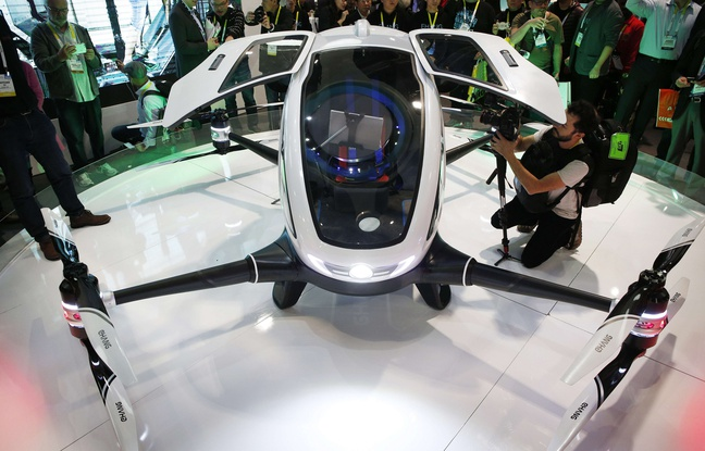 Chinese drone Ehang 184