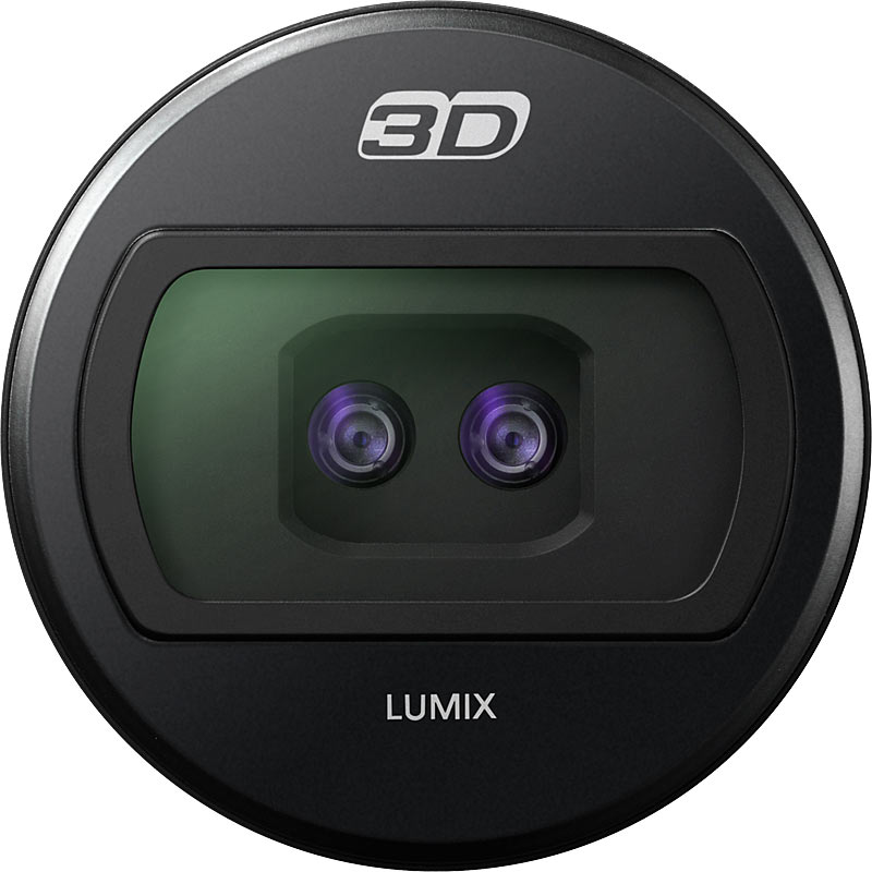 3D Lens for Lumix Micro 4/3