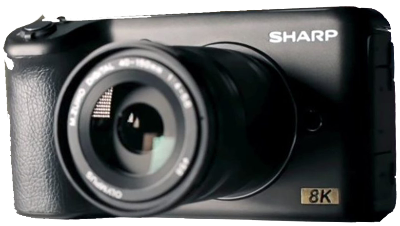 Sharp prototype 8K